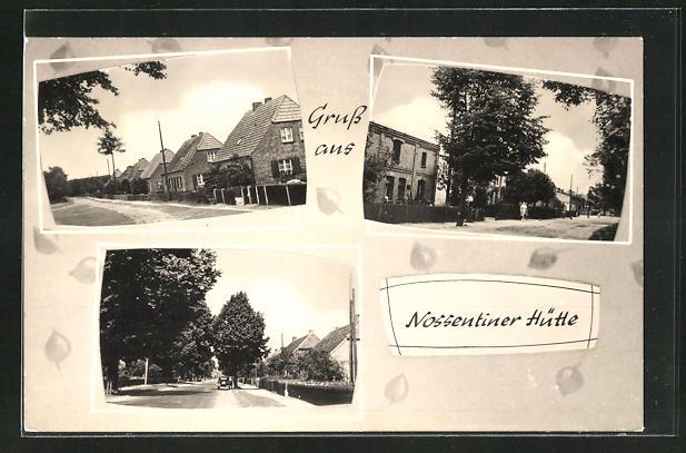 AK Nossentiner Hütte, Ortsansichten