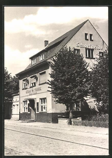 AK Eichhorst, Teilansicht Gaststätte Schorfheide