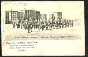 AK Ganzsache Bayern, 3. Inf.-Regiment