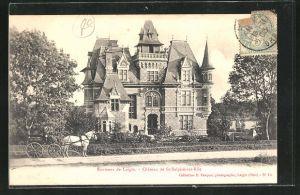 AK St-Sulpice-sur-Rile, Le Chateau, Ansicht vom Schloss