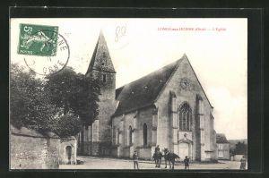 AK Conde-sur Huisne, L'eglise