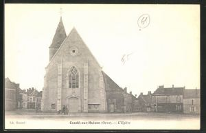 AK Conde-sur-Huisne, L'eglise