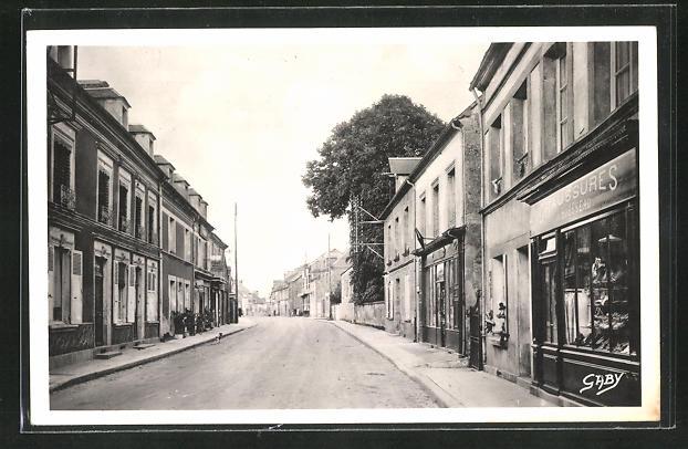 AK Nonant-le-Pin, La grande rue