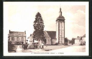 AK Neuilly-sur-Eure, L'Eglise