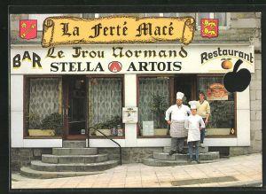AK Normandie, Le Trou Normand, Bar-Restaurant, Place de la Republique