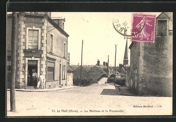 AK Le Theil, La Matteau et la Passerelle