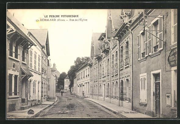 AK Remalard, Rue de l'Eglise