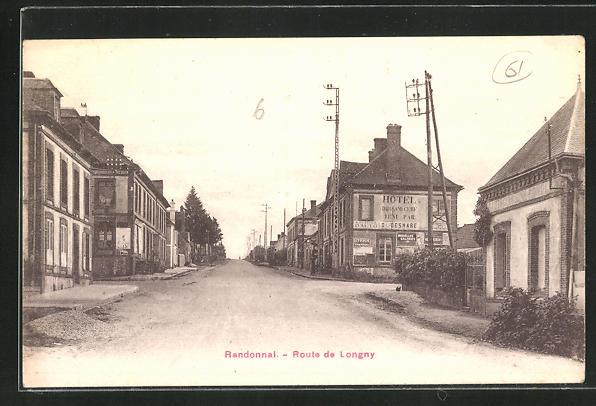 AK Randonnal, Route de Longny