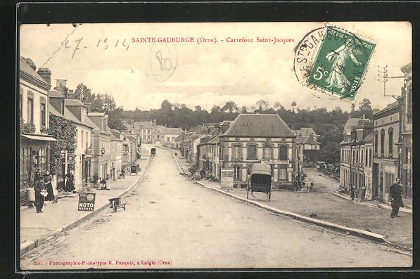 AK Sainte-Gauburge, Carrefour Saint-Jacques