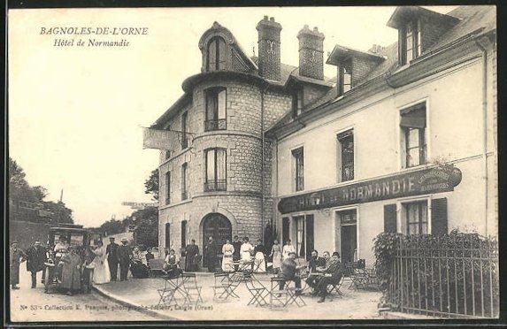 AK Bagnoles-de-l'Orne, Hotel de Normandie