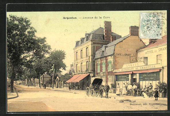 AK Argentan, Avenue de la Gare