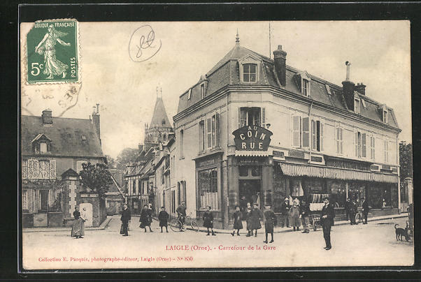 AK Laigle, Carrefour de la Gare