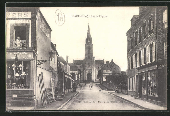 AK Gace, Rue de l'Eglise