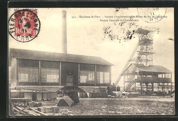AK Larchamp, Societe d'exploitation des Mines de fer