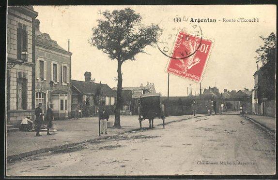 AK Argentan, Route d'Ecouche