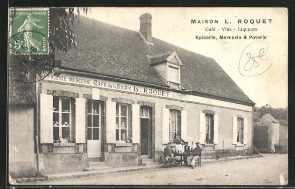 AK Fontenay, Maison L. Roquet, Cafe-Vins-Liqueurs