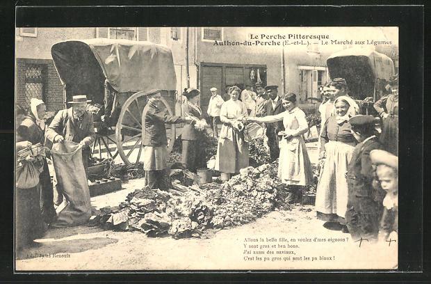 AK Authon-du-Perche, Le Marche aux Legumes