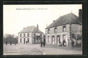 AK Authon-du Perche, Place de la Gare