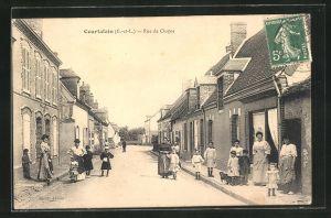 AK Courtalain, Rue de Cloyes