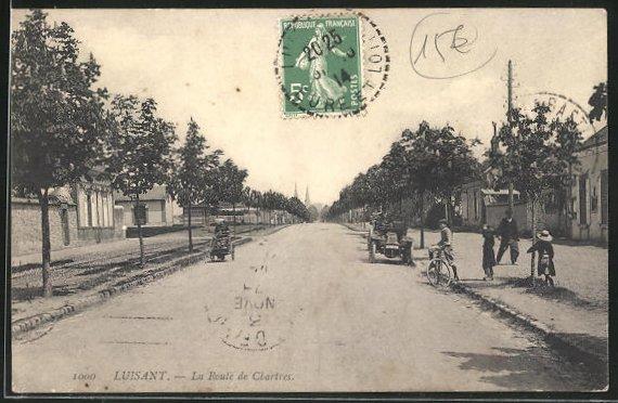 AK Luisant, La Route de Chartres