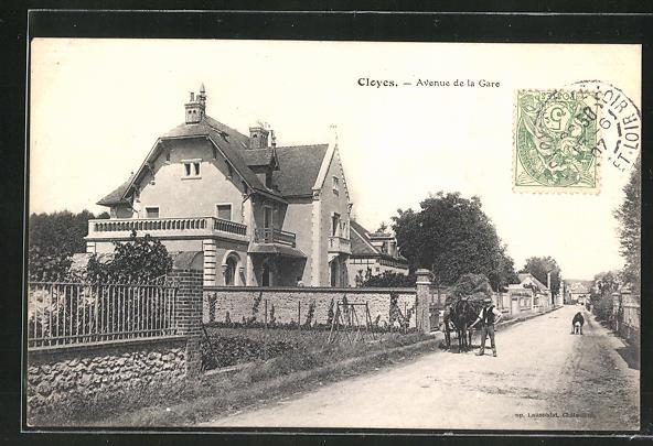AK Cloyes, Avenue de la Gare
