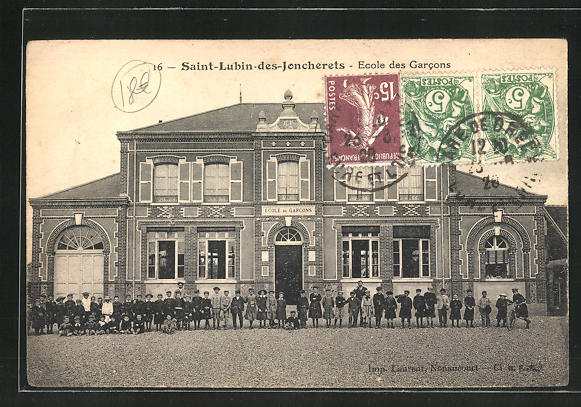 AK Saint-Lubin-des-Joncherets, Ecole des Garcons