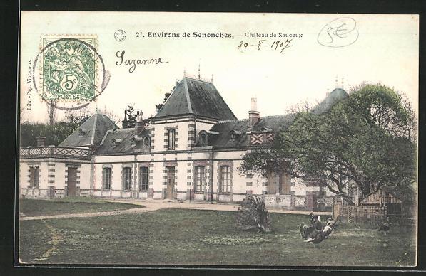 AK Senonches, Chateau de Sauceux