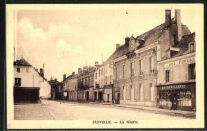 AK Janville, La Mairie