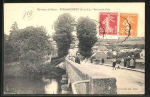 AK Fermaincourt, Vue sur le Pont