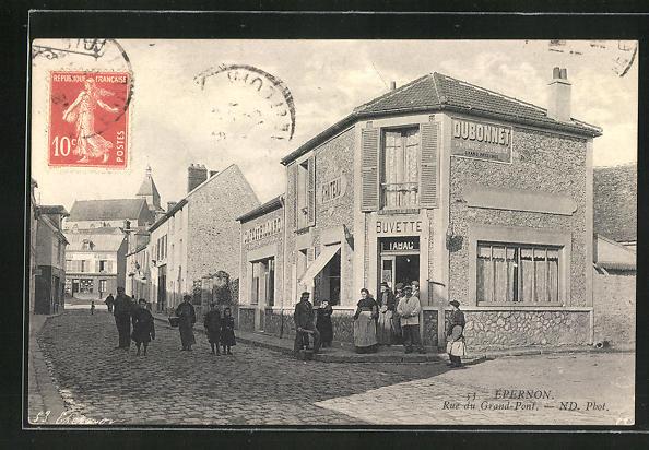 AK Epernon, Rue du Grand-Pont