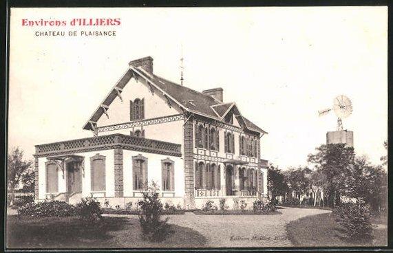 AK Illiers, Chateau de Plaisance