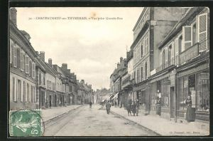 AK Chateauneuf-en-Thymerais, Vue prise Grande-Rue