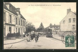 AK Chateauneuf-en-Thymerais, Route de Dreux