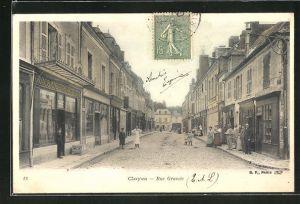 AK Cloyes, Rue Grande