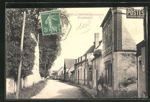 AK Vert-en-Drouais, Rue principale