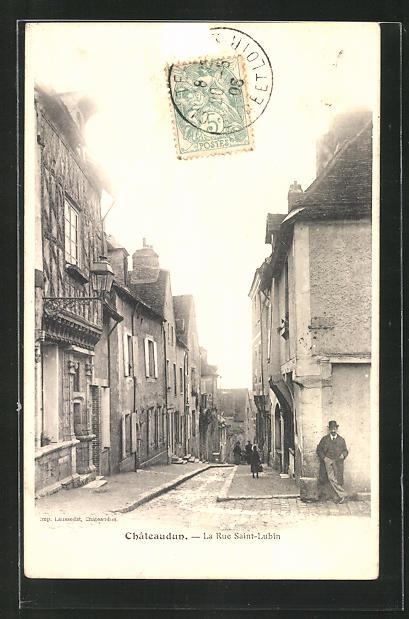 AK Chateaudun, rue Saint-Lubin