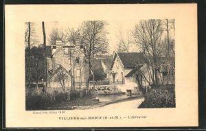AK Villiers-sur-Morin, L`Abreuvoir, Motiv der Tränke