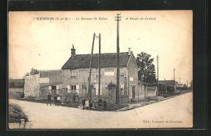 AK Cesson, Le Bureau de Tabac et Route de Corbeil