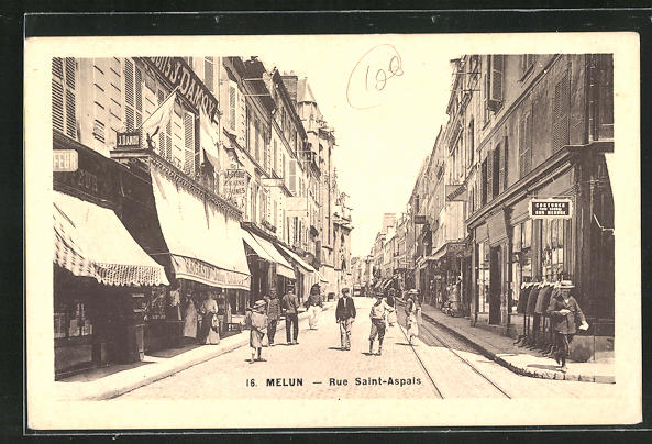 AK Melun, Rue Saint Aspais