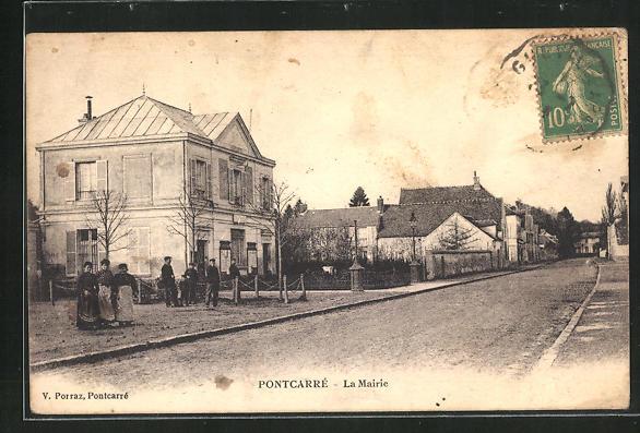 AK Pontcarrè, La Mairie