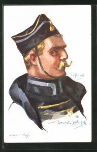 Künstler-AK Em. Dupuis: Aerschot, Lancier Belge 1914