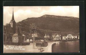 AK Weggis, Quai und Hotel Seehof du Lac