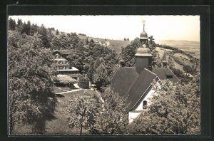 AK Hergiswald, Kurhaus und Wallfahrtskirche