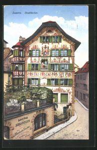AK Luzern, Restaurant und Bierhalle Stadtkeller