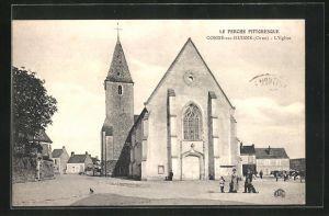 AK Conde-sur-Huisne, L`Eglise