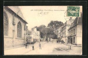 AK Laigle, Place St-Martin, Entrée du Chateau