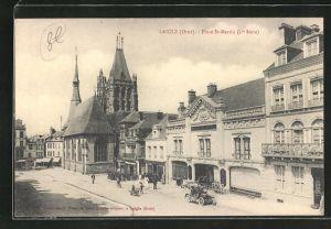 AK Laigle, Place St-Martin, l`Eglise