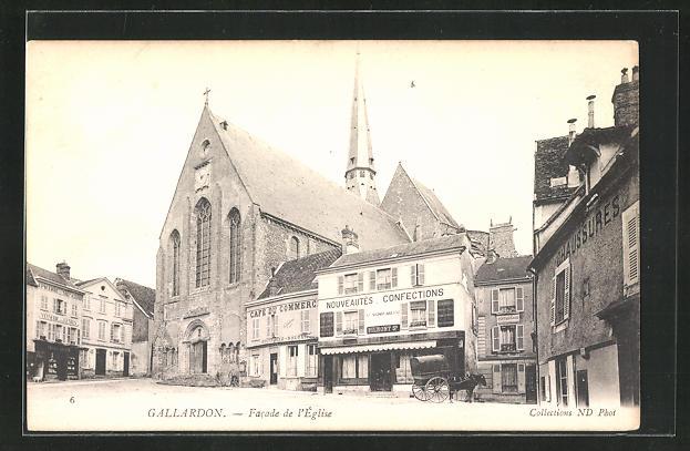 AK Gallardon, Facade de l`Eglise