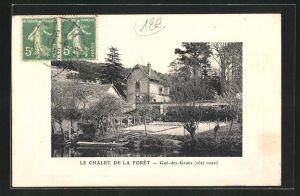 Präge-AK Gue-des-Grues, Le Chalet de la Foret, cote ouest