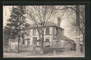 AK Bercheres-sur-Vesgres, La Mairie